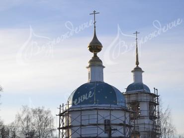 Формы православных храмов.
