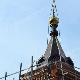 Строительство православного храма.