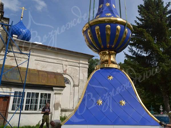 Изготовление декора для храма разного размера и конструкций.