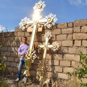 Накупольные кресты сложной формы — сварка, спайка или отлив?