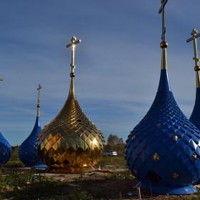 Установлено пятиглавие на храм Рождества Пресвятой Богородицы в г. Иваново.