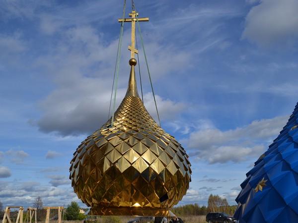 Предпочтения в конструкциях православных храмовых куполов.