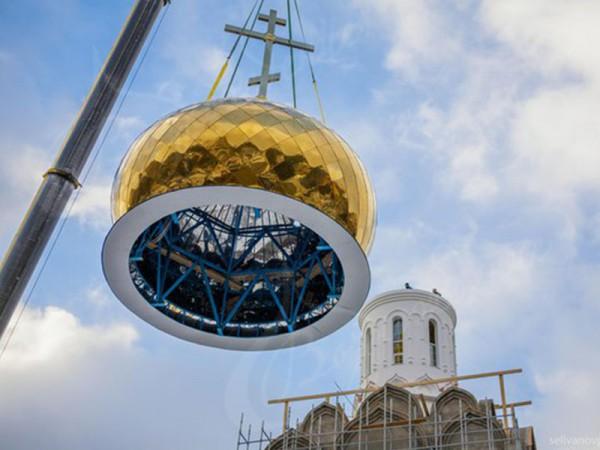 Изготовление куполов храма любой архитектурной формы.