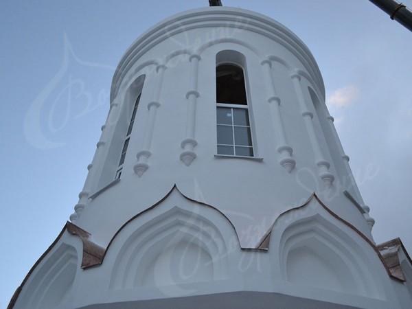 Применение стеклофибробетона в храмовом строительстве.