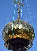 Изготовление куполов и крестов в Москве