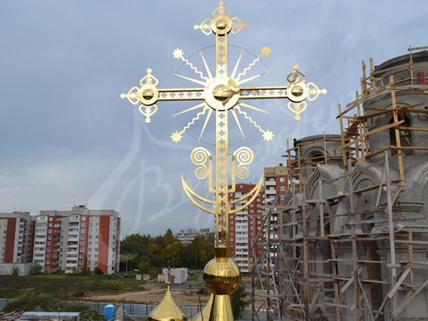 Изготовление крестов для храма в Москве и Подмосковье.