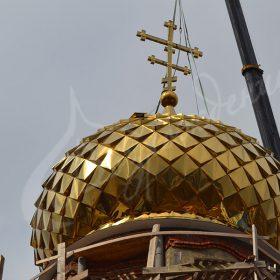 Изготовление куполов в Москве с доставкой и установкой.