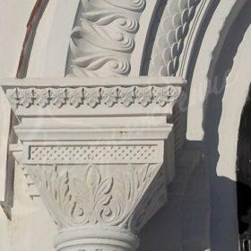Наружная и внутренняя художественная отделка храма.