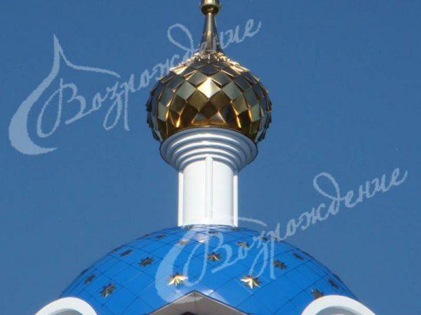 Стилистика декорирования храмовых куполов.