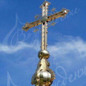 Изготовление креста для купола храма из качественных материалов.