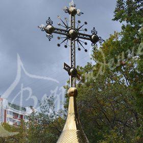 Технологии изготовления накупольных крестов для храма.