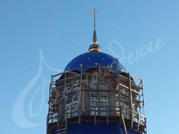 Изготовление купола храма из полиэстера любого размера.