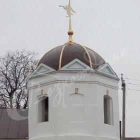 Изготовлен и установлен шлем для Казанского женского монастыря, г.Касимов Рязанская обл.