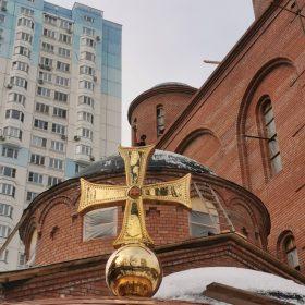 Установлен купол храма Луки (Войно-Ясенецкого) в столице